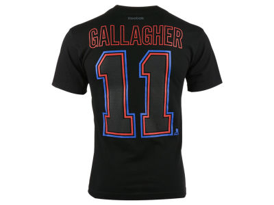 Montreal Canadiens Brendan Gallagher Reebok NHL Men's Black Ice Player T-Shirt