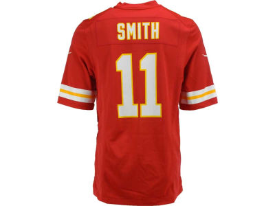 Kansas City Chiefs Alex Smith Nike NFL Men's Game Jersey