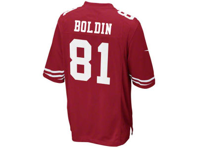 San Francisco 49ers Anquan Boldin Nike NFL Men's Game Jersey