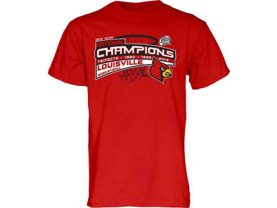 Louisville Cardinals Blue 84 NCAA 2013 Basketball National Champ Levo T-Shirt