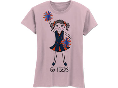 Auburn Tigers NCAA Girls MYU Cheer T-Shirt