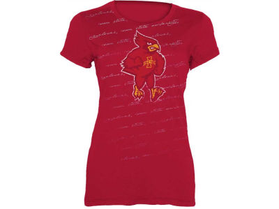 Iowa State Cyclones NCAA Missy Just Foil T-Shirt