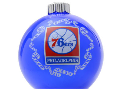 Philadelphia 76ers Traditional Ornament Candy Cane