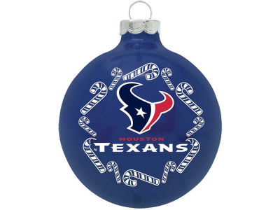 Houston Texans Traditional Ornament Candy Cane
