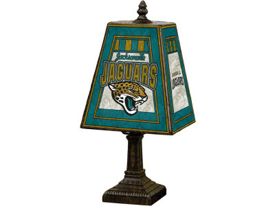 Jacksonville Jaguars Art Glass Table Lamp