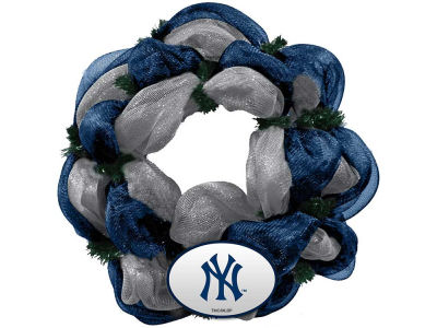 New York Yankees Mesh Wreath