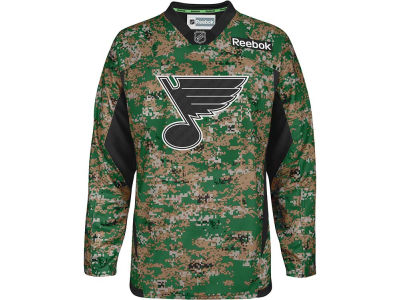 St. Louis Blues Reebok NHL Camo Jersey