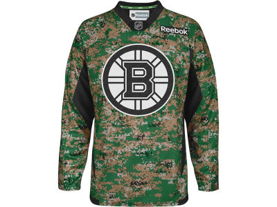Boston Bruins Reebok NHL Camo Jersey