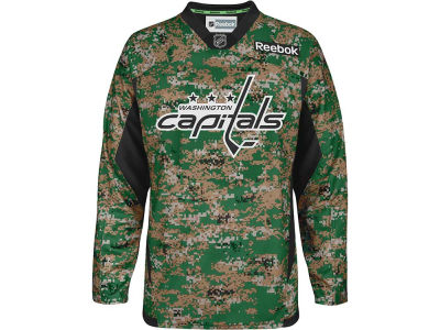 Washington Capitals Reebok NHL Camo Jersey