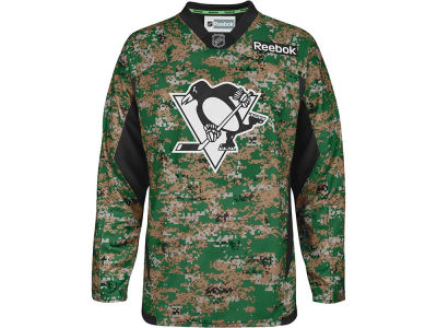 Pittsburgh Penguins Reebok NHL Camo Jersey