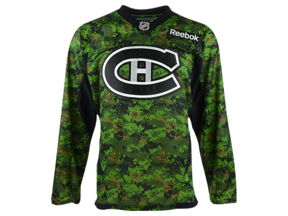 Montreal Canadiens Reebok NHL Camo Jersey  c84e3f733d4