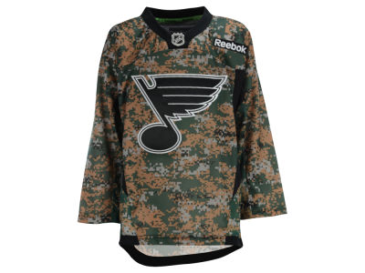 St. Louis Blues NHL Youth Camo Jersey