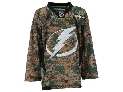 Tampa Bay Lightning NHL Youth Camo Jersey