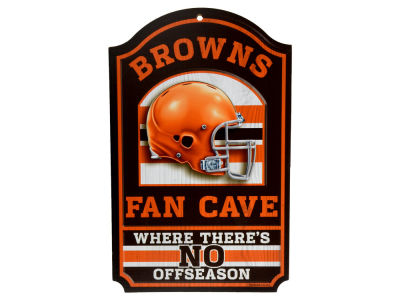 Cleveland Browns 11x17 Wood Sign