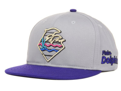 Pink Dolphin Waves Strapback Cap
