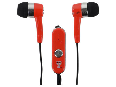 Texas Tech Red Raiders Audible Earbuds