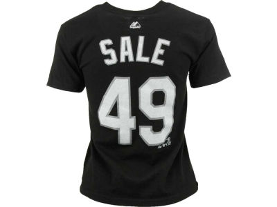 Chicago White Sox Chris Sale Majestic MLB Youth Player T-Shirt