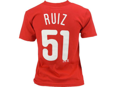 Philadelphia Phillies Carlos Ruiz Majestic MLB Youth Player T-Shirt
