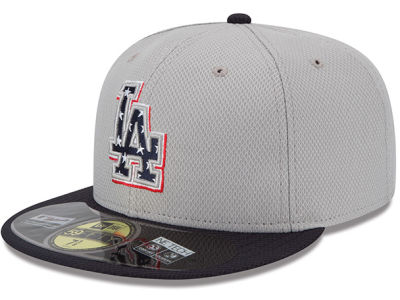 Los Angeles Dodgers New Era MLB 2013 July 4th Stars & Stripes 59FIFTY Cap
