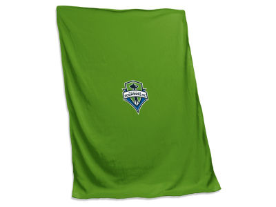 Seattle Sounders FC Logo Brands NCAA Sweatshirt Blanket