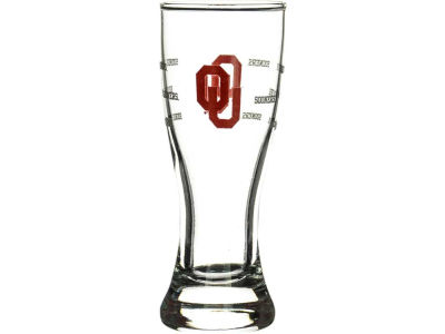 Oklahoma Sooners Satin Etch Mini Pilsner