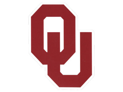 Oklahoma Sooners Die Cut Color Decal 8in X 8in