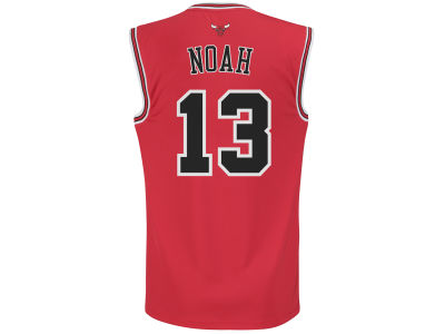 Chicago Bulls Joakim Noah adidas NBA Rev 30 Replica Jersey