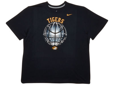 Missouri Tigers Nike NCAA Fusion Power Glow Ball T-Shirt