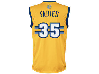 Denver Nuggets Kenneth Faried adidas NBA Rev 30 Replica Jersey