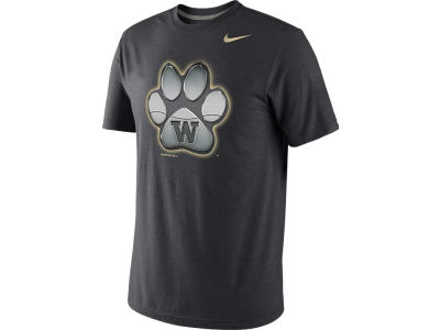 Washington Huskies Nike NCAA Stealth Mascot Tri-B T-Shirt