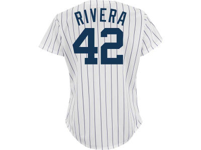 New York Yankees Mariano Rivera Majestic MLB Womens Commemorative Replica Jersey