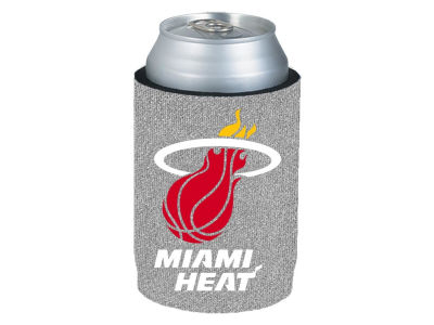Miami Heat Glitter Can Coozie