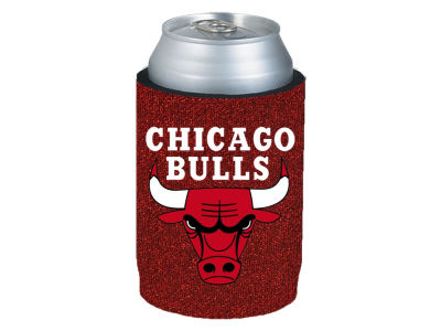 Chicago Bulls Glitter Can Coozie