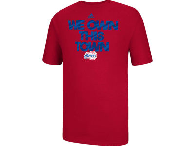 Los Angeles Clippers adidas NBA Own This Town T-Shirt