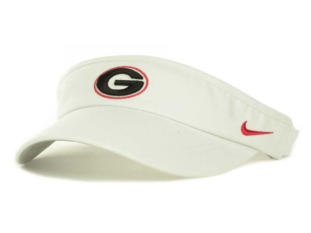 Georgia Bulldogs Nike NCAA Sideline Dri-Fit Visor  9afb7c1efac