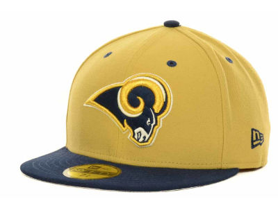 St. Louis Rams New Era NFL 2 Tone 59FIFTY Cap