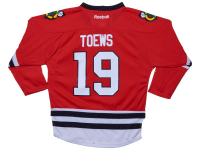 Chicago Blackhawks Jonathan Toews Reebok NHL Kids Replica Player Jersey
