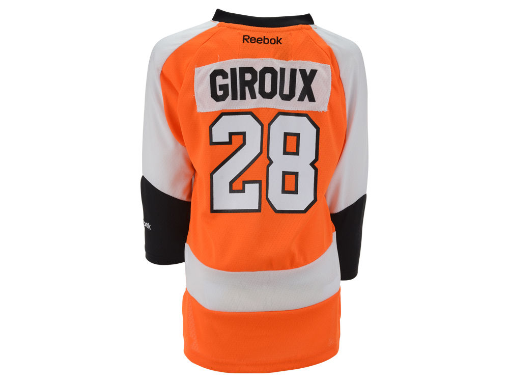 Philadelphia Flyers Claude Giroux Reebok NHL Kids Replica Player Jersey  fa102dcfb