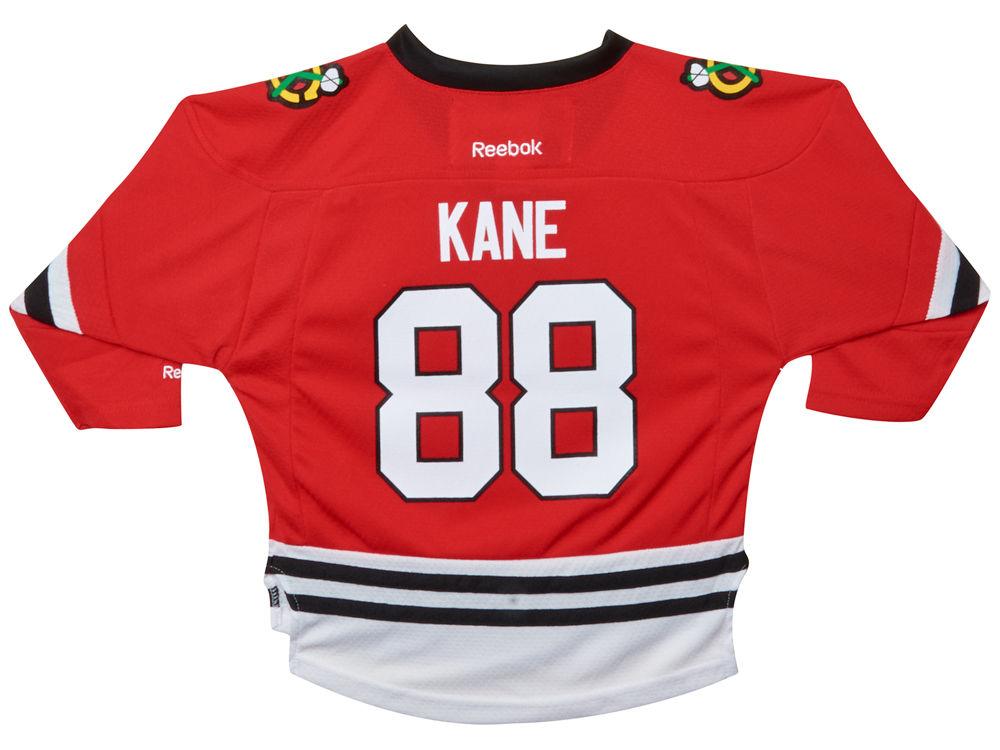 e98b11dab Chicago Blackhawks Patrick Kane Reebok NHL Toddler Replica Player Jersey