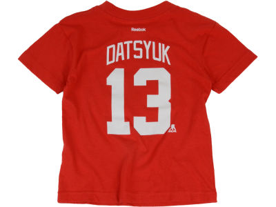Detroit Red Wings Pavel Datsyuk NHL Toddler Player T-Shirt