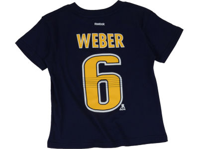 Nashville Predators Shea Weber NHL Toddler Player T-Shirt