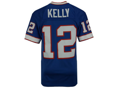 Buffalo Bills Jim Kelly Mitchell and Ness NFL Replica Throwback Jersey