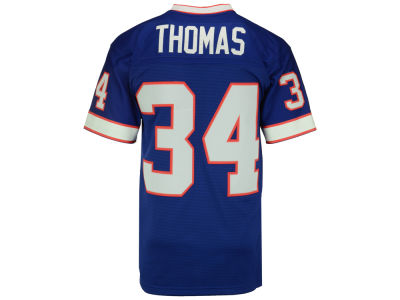 Buffalo Bills Thurman Thomas NFL Replica Throwback Jersey
