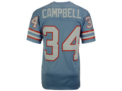 Houston Oilers Earl Campbell Mitchell and Ness NFL Replica Throwback Jersey