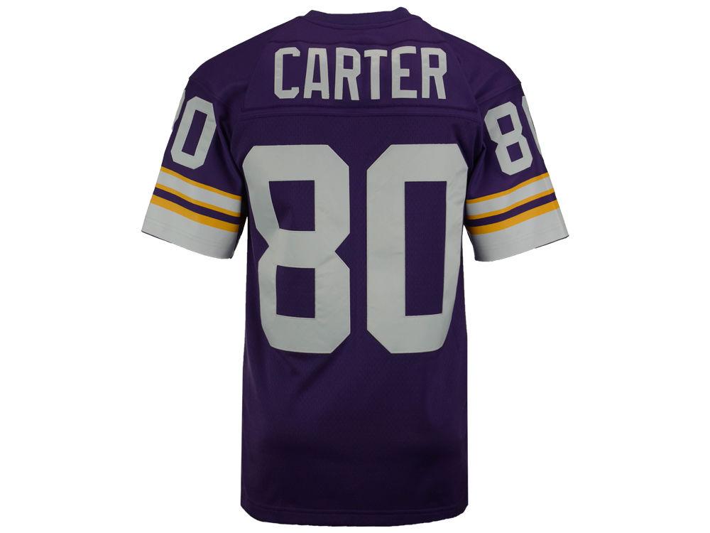 Minnesota Vikings Cris Carter Mitchell   Ness NFL Replica Throwback Jersey. Minnesota  Vikings ... dce813730
