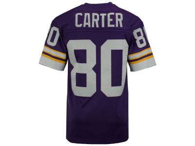 Minnesota Vikings Cris Carter Mitchell and Ness NFL Replica Throwback Jersey