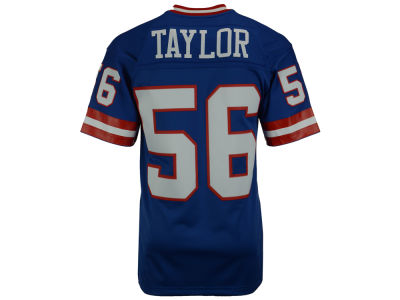 New York Giants Lawrence Taylor Mitchell and Ness NFL Replica Throwback Jersey