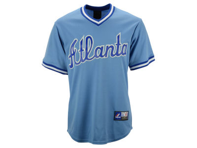 Atlanta Braves Majestic MLB Men's Cooperstown Replica Jersey