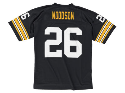 Pittsburgh Steelers Rod Woodson Mitchell & Ness NFL Replica Throwback Jersey