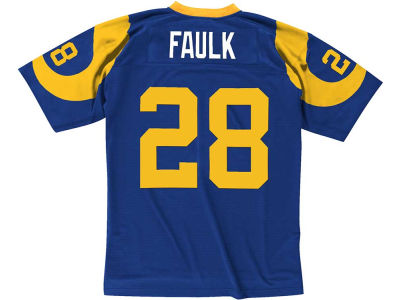 St. Louis Rams Marshall Faulk Mitchell & Ness NFL Replica Throwback Jersey